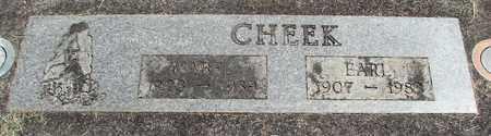 CHEEK, EARL - Linn County, Oregon | EARL CHEEK - Oregon Gravestone Photos