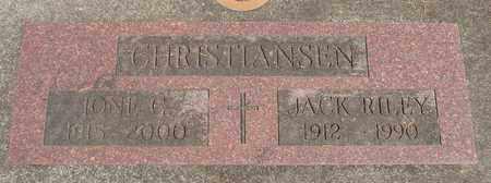 CHRISTIANSEN, JACK RILEY - Linn County, Oregon   JACK RILEY CHRISTIANSEN - Oregon Gravestone Photos