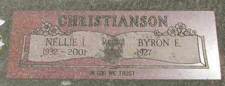 CHRISTIANSON, BYRON E - Linn County, Oregon | BYRON E CHRISTIANSON - Oregon Gravestone Photos