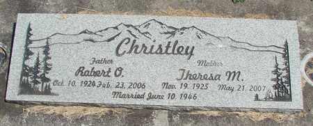 CHRISTLEY, ROBERT O - Linn County, Oregon | ROBERT O CHRISTLEY - Oregon Gravestone Photos