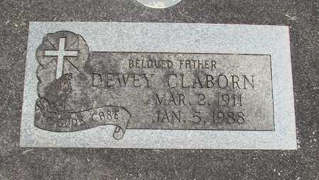 CLABORN, DEWEY - Linn County, Oregon | DEWEY CLABORN - Oregon Gravestone Photos