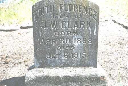 CLARK, EDITH FLORENCE - Linn County, Oregon | EDITH FLORENCE CLARK - Oregon Gravestone Photos