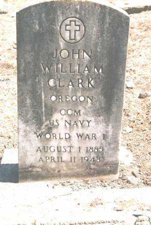 CLARK (WWI), JOHN WILLIAM - Linn County, Oregon | JOHN WILLIAM CLARK (WWI) - Oregon Gravestone Photos