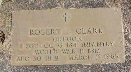 CLARK, ROBERT L - Linn County, Oregon   ROBERT L CLARK - Oregon Gravestone Photos