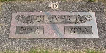 CLOVER, JOHN E - Linn County, Oregon | JOHN E CLOVER - Oregon Gravestone Photos