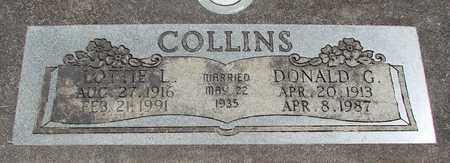 COLLINS, LOTTIE LEOLA - Linn County, Oregon | LOTTIE LEOLA COLLINS - Oregon Gravestone Photos