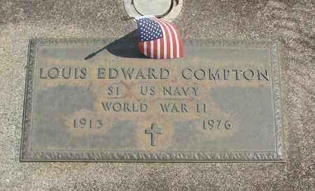 COMPTON, LOUIS EDWARD - Linn County, Oregon   LOUIS EDWARD COMPTON - Oregon Gravestone Photos