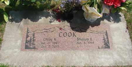 COOK, SHAWN E - Linn County, Oregon | SHAWN E COOK - Oregon Gravestone Photos