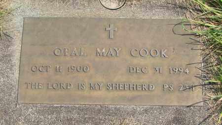 COOK, OPAL MAY - Linn County, Oregon | OPAL MAY COOK - Oregon Gravestone Photos