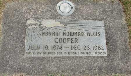 COOPER, ABRAM HOWARD ALVIS - Linn County, Oregon | ABRAM HOWARD ALVIS COOPER - Oregon Gravestone Photos
