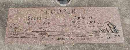 COOPER, DAVID O - Linn County, Oregon | DAVID O COOPER - Oregon Gravestone Photos