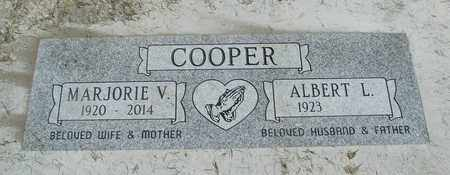 COOPER, ALBERT L - Linn County, Oregon | ALBERT L COOPER - Oregon Gravestone Photos