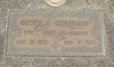 COPELAND, CLYDE L - Linn County, Oregon | CLYDE L COPELAND - Oregon Gravestone Photos