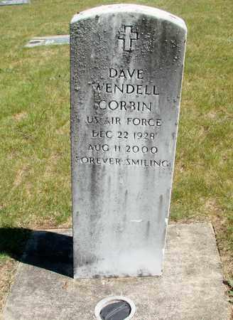 CORBIN, DAVE WENDELL - Linn County, Oregon | DAVE WENDELL CORBIN - Oregon Gravestone Photos