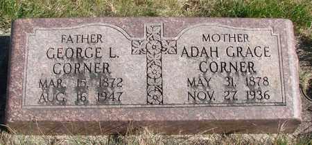 CARTER CORNER, ADAH GRACE - Linn County, Oregon   ADAH GRACE CARTER CORNER - Oregon Gravestone Photos