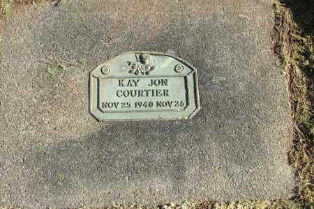 COURTIER, KAY JO - Linn County, Oregon | KAY JO COURTIER - Oregon Gravestone Photos
