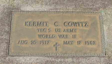 COWITZ, KERMIT CHARLES - Linn County, Oregon | KERMIT CHARLES COWITZ - Oregon Gravestone Photos