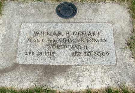 COZART, WILLIAM BENTLEY - Linn County, Oregon   WILLIAM BENTLEY COZART - Oregon Gravestone Photos