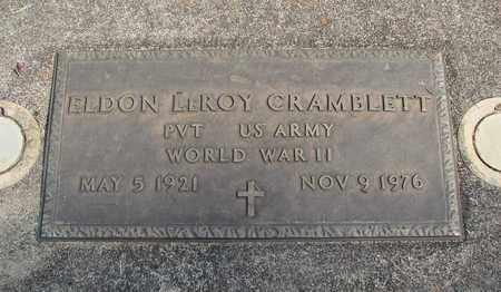 CRAMBLETT, ELDON LEROY - Linn County, Oregon   ELDON LEROY CRAMBLETT - Oregon Gravestone Photos