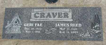 CRAVER, JAMES REED - Linn County, Oregon | JAMES REED CRAVER - Oregon Gravestone Photos