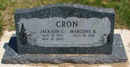 CRON, JACKSON CHARLES, SR - Linn County, Oregon | JACKSON CHARLES, SR CRON - Oregon Gravestone Photos
