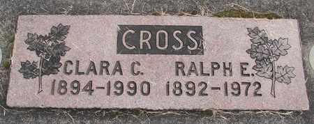 CROSS, CLARA C - Linn County, Oregon | CLARA C CROSS - Oregon Gravestone Photos