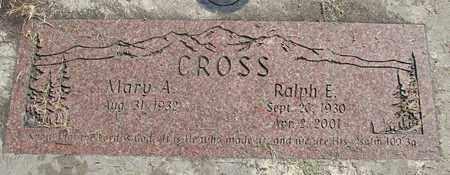 CROSS, MARY ELLEN - Linn County, Oregon | MARY ELLEN CROSS - Oregon Gravestone Photos