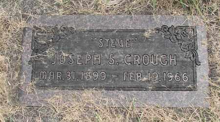 CROUGH, JOSEPH S - Linn County, Oregon | JOSEPH S CROUGH - Oregon Gravestone Photos