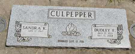 CULPEPPER, SANDA K - Linn County, Oregon | SANDA K CULPEPPER - Oregon Gravestone Photos