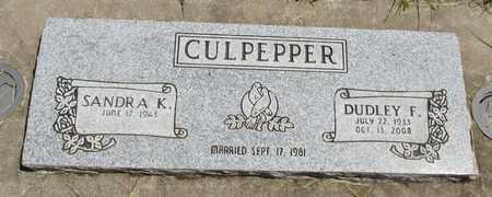 CULPEPPER, DUDLEY FLOYD - Linn County, Oregon | DUDLEY FLOYD CULPEPPER - Oregon Gravestone Photos