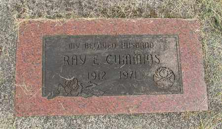 CUMMINS, RAY E - Linn County, Oregon | RAY E CUMMINS - Oregon Gravestone Photos