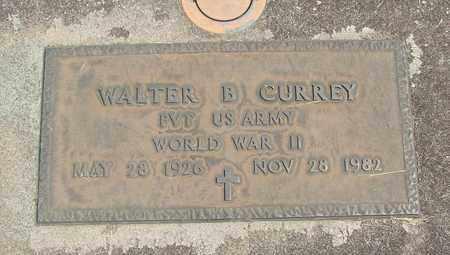 CURREY, WALTER BRYON - Linn County, Oregon   WALTER BRYON CURREY - Oregon Gravestone Photos