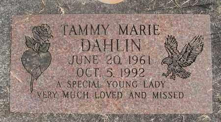 DAHLIN, TAMMY MARIE - Linn County, Oregon | TAMMY MARIE DAHLIN - Oregon Gravestone Photos