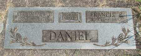 DANIEL, FRANCIS E - Linn County, Oregon | FRANCIS E DANIEL - Oregon Gravestone Photos