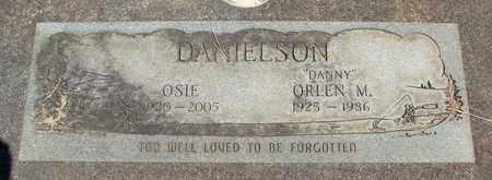 DANIELSON, ORLEN M - Linn County, Oregon   ORLEN M DANIELSON - Oregon Gravestone Photos