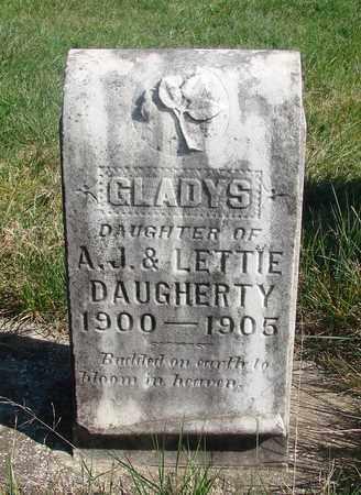 DAUGHERTY, GLADYS - Linn County, Oregon | GLADYS DAUGHERTY - Oregon Gravestone Photos