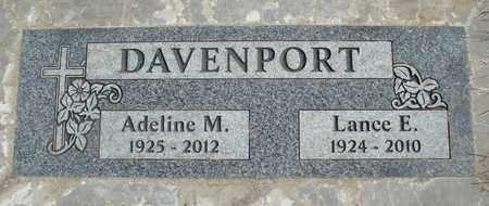 KECK DAVENPORT, ADELINE MARIANNE - Linn County, Oregon | ADELINE MARIANNE KECK DAVENPORT - Oregon Gravestone Photos