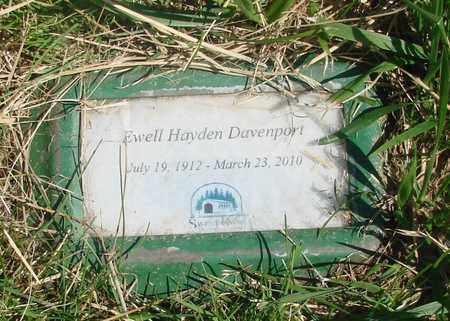 DAVENPORT, EWELL HAYDEN - Linn County, Oregon | EWELL HAYDEN DAVENPORT - Oregon Gravestone Photos