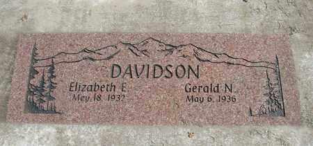 DAVIDSON, ELIZABETH E - Linn County, Oregon | ELIZABETH E DAVIDSON - Oregon Gravestone Photos