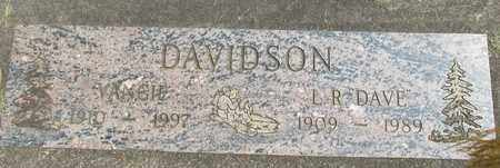 DAVIDSON, VANGIE - Linn County, Oregon | VANGIE DAVIDSON - Oregon Gravestone Photos