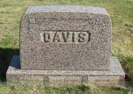 DAVIS, WARREN H - Linn County, Oregon   WARREN H DAVIS - Oregon Gravestone Photos
