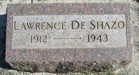 DE SHAZO, LAWRENCE - Linn County, Oregon | LAWRENCE DE SHAZO - Oregon Gravestone Photos