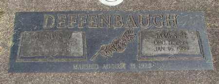 DEFFENBAUGH, JAMES WILLIAM OLIVER - Linn County, Oregon | JAMES WILLIAM OLIVER DEFFENBAUGH - Oregon Gravestone Photos