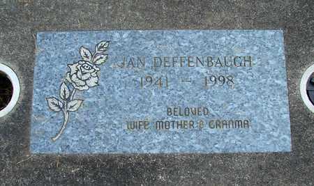 DEFFENBAUGH, JANICE DARLENE - Linn County, Oregon | JANICE DARLENE DEFFENBAUGH - Oregon Gravestone Photos