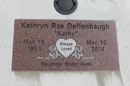 DEFFENBAUGH, KATHRYN RAE - Linn County, Oregon   KATHRYN RAE DEFFENBAUGH - Oregon Gravestone Photos