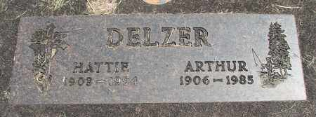 DELZER, HATTIE A - Linn County, Oregon | HATTIE A DELZER - Oregon Gravestone Photos