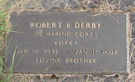 DERBY, ROBERT E - Linn County, Oregon   ROBERT E DERBY - Oregon Gravestone Photos