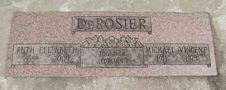 DEROSIER, RUTH ELIZABETH - Linn County, Oregon   RUTH ELIZABETH DEROSIER - Oregon Gravestone Photos