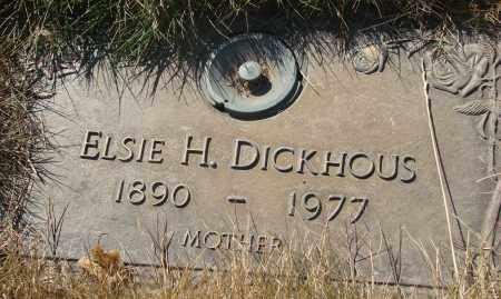 ADAMS DICKHOUS, ELSIE HATTIE - Linn County, Oregon | ELSIE HATTIE ADAMS DICKHOUS - Oregon Gravestone Photos