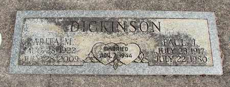 DICKINSON, PAUL JAMES - Linn County, Oregon | PAUL JAMES DICKINSON - Oregon Gravestone Photos